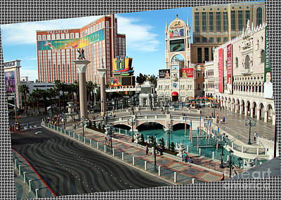 Photograph - Las Vegas View by Afrodita Ellerman