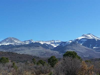 Photograph - Lasal Mountains - Utah by Pamela Walrath