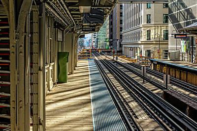 Photograph - Lasalle Van Buren L Station V2 Dsc_9651 by Raymond Kunst