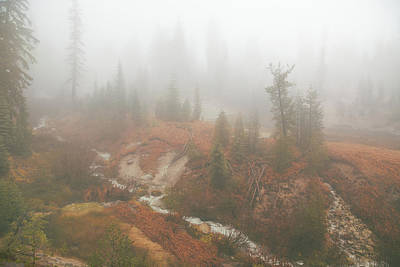 Photograph - Lassen Fog by Kunal Mehra