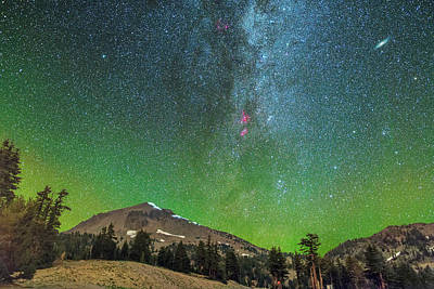 Lassen Nights Art Print