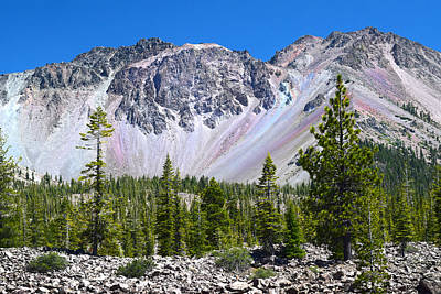 Photograph - Lassen Peak And Desolation Area by Frank Wilson