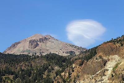 Photograph - Lassen Peak by Viktor Savchenko