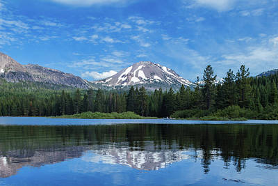 Winter Animals Rights Managed Images - Lassen Reflection Royalty-Free Image by Joe Kopp