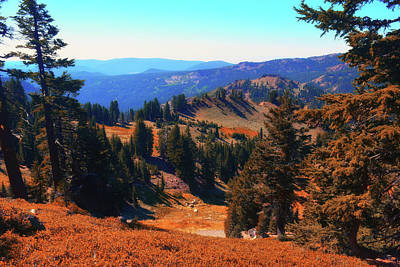 Photograph - Lassen Volcanic National Park by Frank Wilson