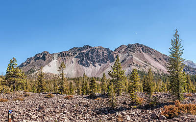 Photograph - Lassen Volcano by John M Bailey