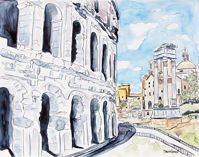 Last Days In Rome Original by Shaina Stinard