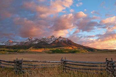 Photograph - Last Dollar Sunset by Steve Stuller