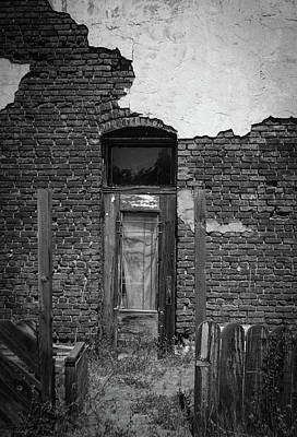 Photograph - Last Door In Oregon by Roland Peachie