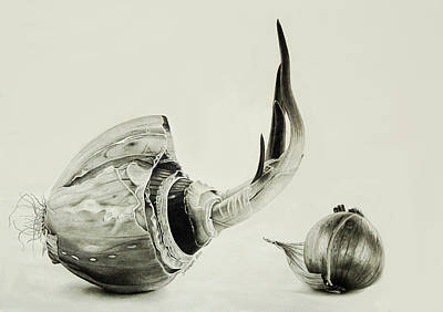 Drawing - Last Effort by Dietrich Moravec