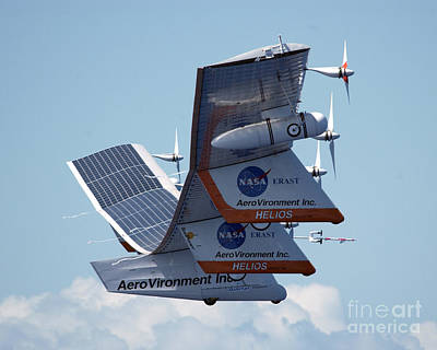 Photograph - Last Flight Of The Helios Prototype 2003 by NASA Science Source