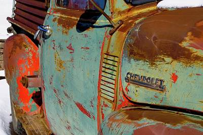 Photograph -  Arroyo Seco Chevy Custom Size by Gia Marie Houck