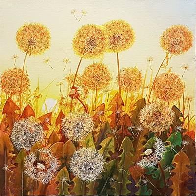Wall Art - Painting - Last Goodbye by Oleg Riabchuk