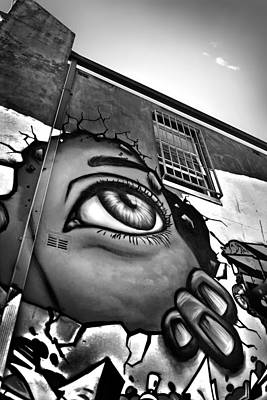 Grafitti Photograph - Last Hope by Az Jackson