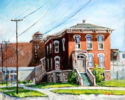 Last House Standing Art Print by Alexandra Maria Ethlyn Cheshire