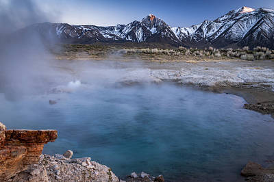 Photograph - Last Light At Blue Lagoon by Cat Connor
