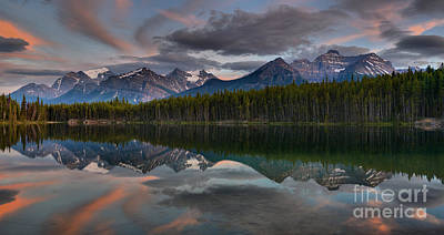 Photograph - Last Light At Herbert Lake by Adam Jewell