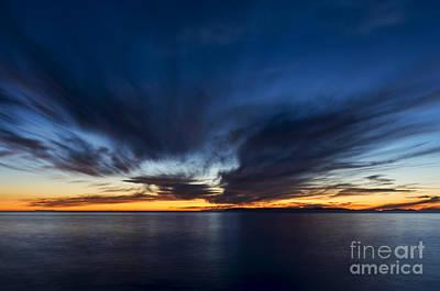 Laguna Beach Digital Art - Last Light by Eddie Yerkish