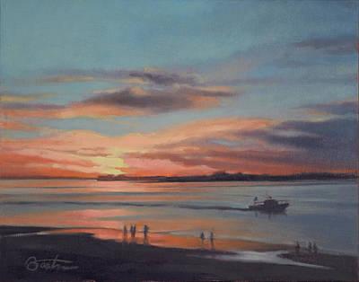 Painting - Last Light, Edisto by Todd Baxter