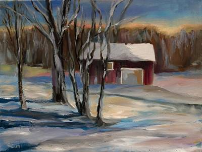 Painting - Last Light by Grace Diehl