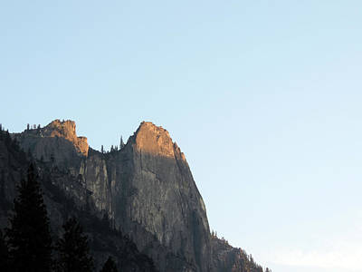 Comedian Drawings Rights Managed Images - Last Light In Yosemite Royalty-Free Image by Eric Forster