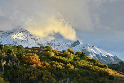 Photograph - Last Light On San Juan Mountains by Ray Mathis
