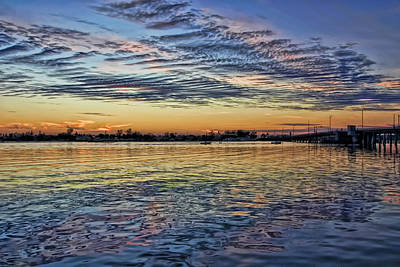 Photograph - Last Light On The Intracoastal by HH Photography of Florida