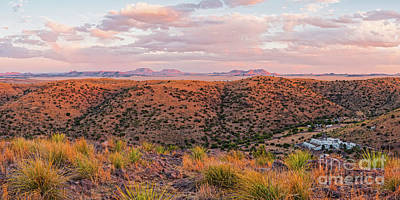 Photograph - Last Light On The Landscape - Davis Mountains State Park And Faraway Chihuahua Desert - Fort Davis by Silvio Ligutti