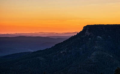 Photograph - Last Light On The Rim  by Saija Lehtonen