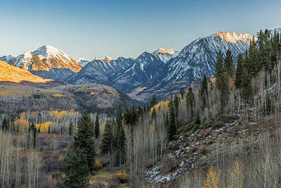 Photograph - Last Light On The Rockies by Jemmy Archer