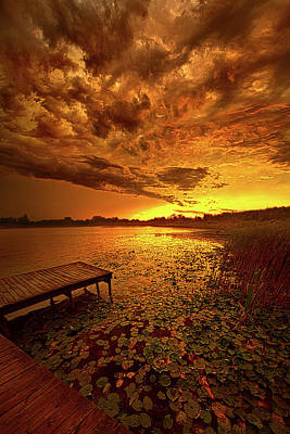 Unity Photograph - Last Light by Phil Koch