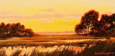 Painting - Last Light  by Sarah Grangier