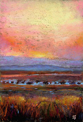 Pastel - Last Light by Susan Jenkins