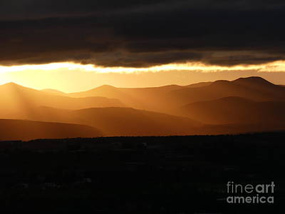 Photograph - Last Light Under A Lowering Sky by Brian Boyle