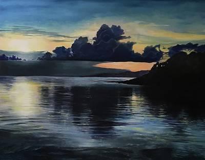Last Look At Lusias Lagoon Art Print