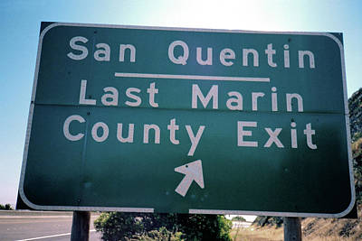 Photograph - Last Marin County Exit by Frank DiMarco