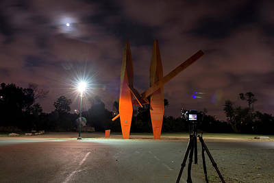Photograph - Last Night In The Park by Dubi Roman