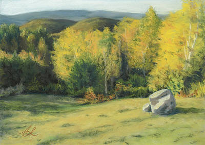 Painting - Last October by Anne Leeds