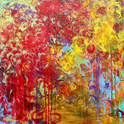 Painting - Last October by Kume Bryant