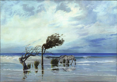 Painting - Last of Africa - Dream 1 by Philippe Plouchart
