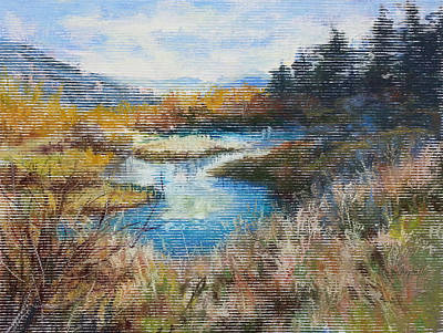 Painting - Last Of Summer by Becky Chappell