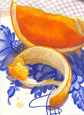 Peel Painting - Last Piece by Catherine G McElroy