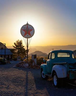 Photograph - Last Pit Stop by Brian Grzelewski