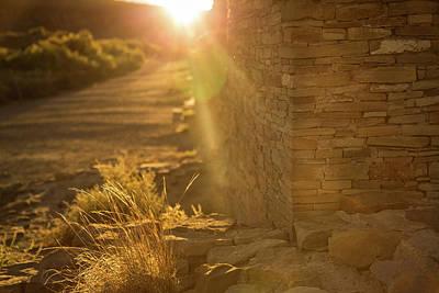 Photograph - Last Rays At Pueblo Bonito by Kunal Mehra