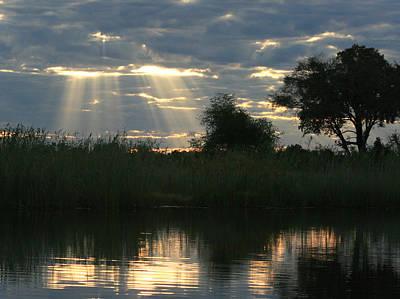 Photograph - Last Rays by Karen Zuk Rosenblatt