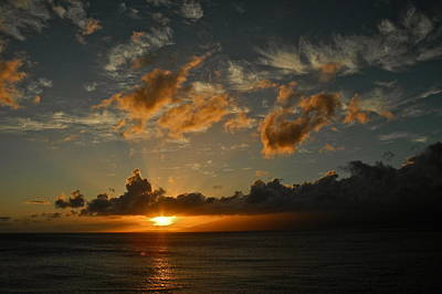 Last Rays Over Molokai Art Print by Kirsten Giving