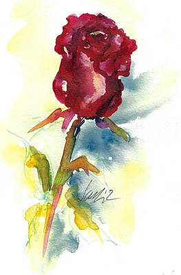 Painting - Last Rose Of Summer by Jacki Kellum