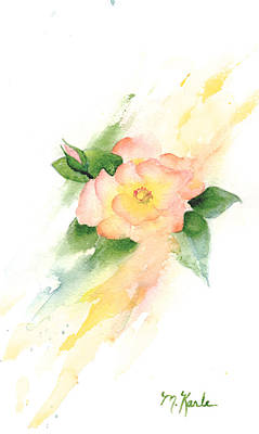 Last Rose Of Summer Art Print