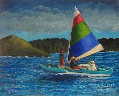 Last Sail Before The Storm Art Print