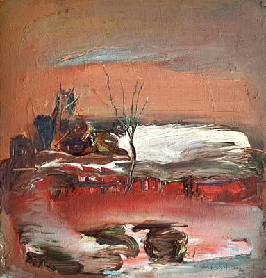 Last Snow Original by Nikolay Malafeev
